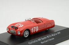 Cisitalia 202 Spyder Mille Miglia 1947 Nuvolari-Carena Starline models 1/43