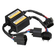 2Pcs H13 Led Headlight Canbus Error Free Anti Flicker Resistor Canceller;Decoder