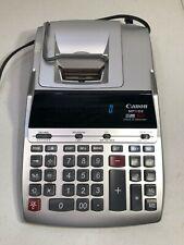 Canon Mp11Dx 12-Digit Ribbon Printing Calculator Black/Red Print 3.7 Lines/Sec