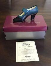 Just The Right Shoe Suffragette 25041 Retired Raine 1999 W/Box & Coa #30