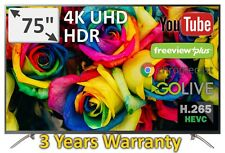 """Changhong New Release Stunning 75"""" UHD 4K HDR Smart Model UD75E8000I 3 year Warr"""