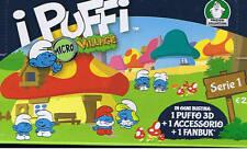 I PUFFI micro village serie 1 completa ED. GIOCHI PREZIOSI 2013