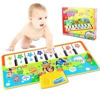 Kids Baby Musical Piano Play Mat Development Animal Educational Soft Toys U HOT