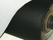 QUALITY BLACK STRETCH STRONG VINYL MOTORCYCLE SEAT COVER SIZE 1 MTR x 72 CM //