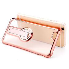 Glossy Mobile Phone Fitted Cases with Kickstand