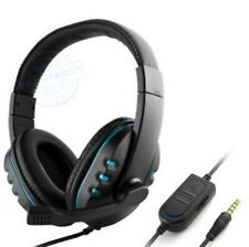 New listing 3.5 mm Jack Wired Handsfree Earphone Gaming Headset Stero w/ Mic For Pc Notebook