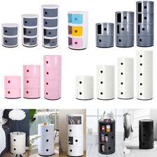 Modern ABS Plastic Drawer Cabinet Bathroom Cupboard Bedroom Storage Unit Boxes