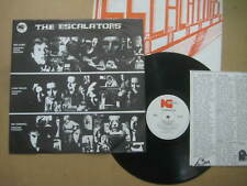 THE ESCALATORS Self Titled RARE AUSSIE MINI LP 1980 - KLP 007 - POWER POP / PUNK
