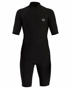 Billabong Absolute 2/2 Back Zip Spring Wetsuit - Men's - Medium / Black (BLK)