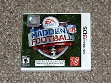 Madden NFL Football Nintendo 3DS Brand New Factory Sealed