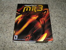 MegaRace MR3 (PC) New and Sealed in Big Box