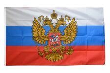 Russland mit Wappen Hissflagge russische Fahnen Flaggen 60x90cm