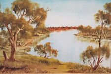 Dick Anderson. Original Oil Painting. A listed Australian Artist.