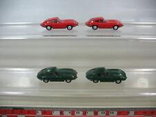 L20-0,5# 4x Wiking H0 Modelle/Modellautos, Jaguar Type E, 2 n, TOP