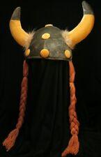 Wikingerhelm mit Zöpfen Wikinger Hut Karneval