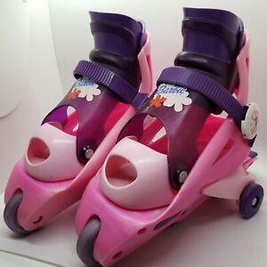 Fisher-Price Barbie Learn 2 Inline Skates Girls Roller Skates Pink Adjustable