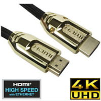 PREMIUM UltraHD HDMI Cable Lead v2.0 0.5M/1M/1.5M/2M-10M High Speed 4K 2160p 3D