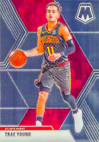 Trae Young 2019-20 Panini MOSAIC 2nd Year Chrome Base Card #182 Atlanta Hawks