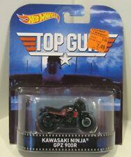 2014 Hot Wheels RETRO Top Gun Kawasaki Ninja GPZ900R Tom Cruise Maverick