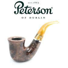 NEW Peterson - Kerry XL11 - 9mm Filter Bent Pipe Yellow Stem