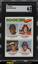1977 Topps Dale Murphy ROOKIE RC #476 SGC 6 EXMT (PWCC)