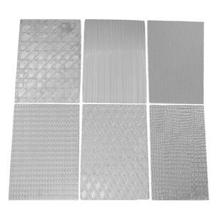 6pcs Fabric Cake Texture Mat Sugar Craft Decoration Fondant Cake Mold Tools