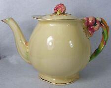 ROYAL WINTON china TIGER LILY - CREAM pattern Teapot - RARE