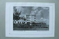 BB1) Bauhaus Architektur Ernst May F Kaufmann 1928 Praunheim Gaststätte Siedlung
