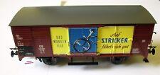 """Lenz 42210-08 -- Güterwagen G10 """"Stricker"""" der DB, Spur 0"""