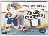 2001-02 Greats of the Game Board Certified #1 Mike Bossy