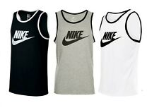 Nike Vest Tank Top Activewear Gym Mens Brand New All Sizes Free Fast Postage