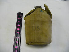 WW2 US  Canteen &  Cover ST. CROIX G. CO. 1943