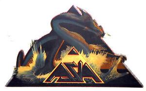 CLASSIC ROCK BAND ASIA T-SHIRT IRON-ON VINTAGE 80s ROCK MUSIC MEMORABILIA RAREST