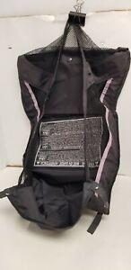 Graco Verb Ck Stroller Storage Bag Organizer Compartment Underseat Pink /Black.