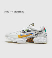 Nike Air Ghost Racer White Blue Yellow Men's Trainers All Sizes