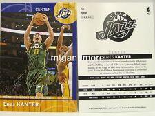 Panini NBA (Adrenalyn XL) 2013/2014 - #108 Enes Kanter - Golden Foil Signature