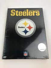 New Pittsburgh Steelers The Complete History 2 disc set DVD NFL Free Shipping