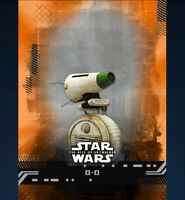 Topps Star Wars Card Trader RISE OF SKYWALKER Orange D-O DIGITAL