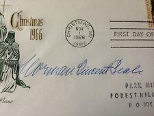 Norman Vincent Peale PSA Rare Autograph Signed Power of Positive Thinking Auto