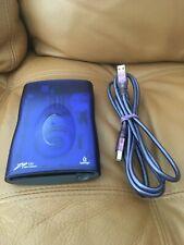Iomega Zip 100 USB Powered External Drive w/ USB Cable Model Z100USBS