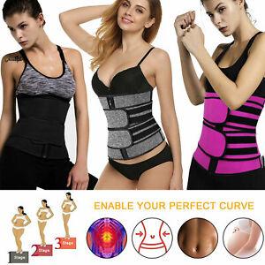 Women Waist Training Corset Cincher Body Shaper Tummy Slimming Belt Shapewear