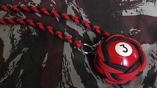 "Boule Billard N°3 ø52 mm Lanyard ""Self Defense/Survie"""