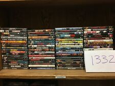 WHOLESALE LOT OF 80 ACTION ADVENTURE THRILLER MYSTERY DVD MOVIES SHIPS FREE!!