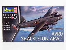 Revell Germany British Avro Shackleton AEW.2 bomber model kit 1/72