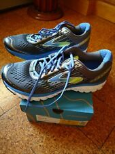New Brooks Ghost 9 Running Shoes Mens 11.5 width D medium  NOS Blue/Lime Punch