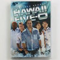 Hawaii Five-0: Complete Sixth Season (DVD, 6-Disc Set) 5-O 2015 Remake