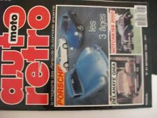 ** Revue Auto Rétro n°97 Porsche / Delahaye 135 MS Ghia / HRD Black Shadow