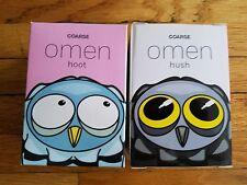 "Coarsetoys Omen Blink 3.5"" Owl Hoot & Hush SDCC exclusive not kaws kidrobot"