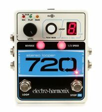 New Electro Harmonix 720 Stereo Looper with AUST 9 volt Power Supply