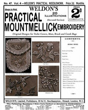 Weldon's 2D #47 c.1888 Mountmellick Embroidery Instructions (2nd Book)